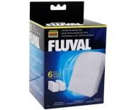 Вкладыш волокнистый в фильтры Fluval 304/305/306, 404/405/406, 6 шт (A244)