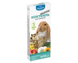 Колосок Коктейль для грызунов (мультивитамин, кокос, мед), 90 г (PR240100)