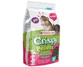 Корм для шиншилл и дегу Versele-Laga Crispy Pellets Chinchillas and Degus