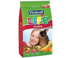 Корм для кроликов Vitakraft Life с бананом 600 гр