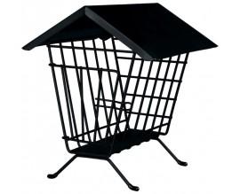Кормушка-домик для сена Trixie черная (60909)