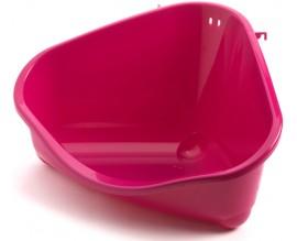 Туалет угловой для грызунов Moderna Pets Corner большой розовый