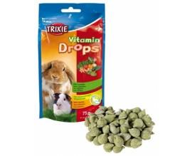 Витамины для грызунов Trixie Drops 75 гр овощи (6022)