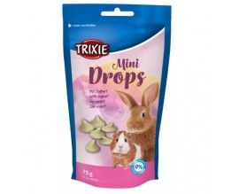 Витаминное лакомство для грызунов Trixie Drops 75 гр йогурт (60332)