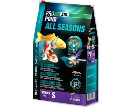 Корм для прудовых рыб JBL ProPond All Seasons S