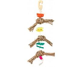 Игрушка с кубиками из люфы для попугаев Trixie (58958)