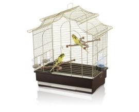 Клетка для попугаев Imac Pagoda Export латунь