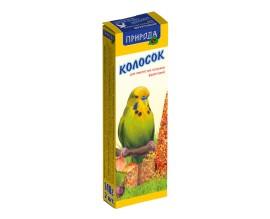 Колосок для попугая Природа фруктовый, 140 г (PR740026)