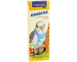 Колосок для попугая Природа Ореховый, 140 г (PR740025)