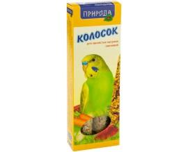 Колосок для попугая Природа Овощной, 140 г (PR740023)