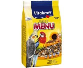 Корм для нимф и больших попугаев Vitakraft Premium Menu