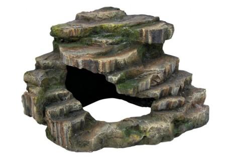 Декорация Trixie Грот угловой со ступеньками