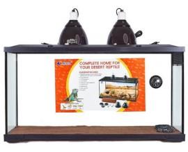 Террариум для рептилий Resun Набор Пустыня РТ 1500 с оборудованием (138909)