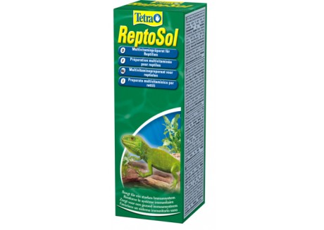 Витамины для рептилий Tetra Fauna ReptoSol 50 мл (780224)